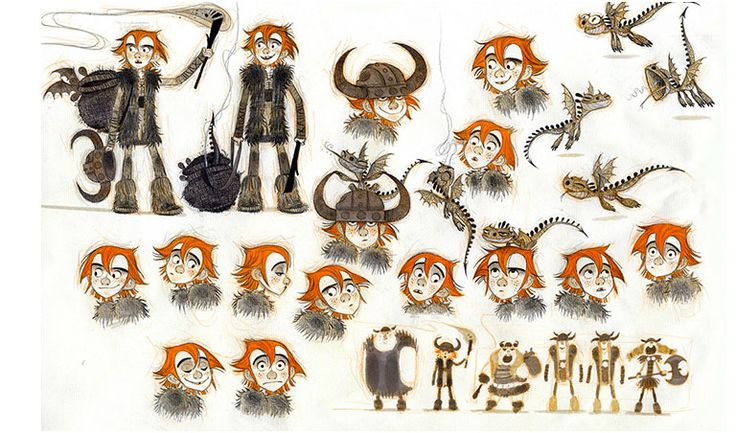 Character Design Dreamworks : Art of nico marlet hiccup and viking designs nicolas