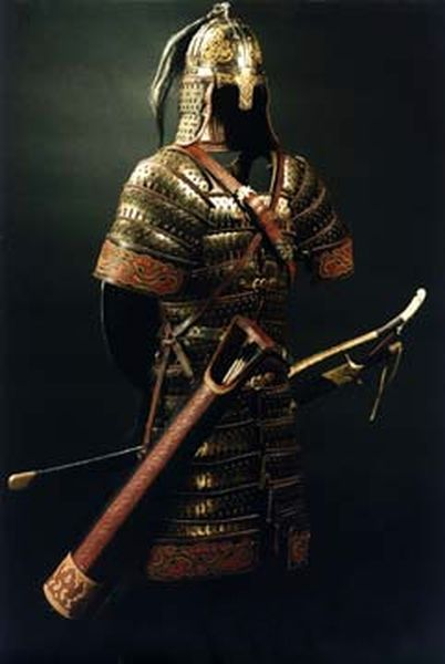 Mongol armour, 12th-15th century A.D.
