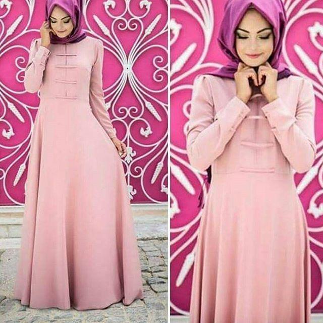 Eda Ertunç - Buglem Pudra Elbise İndirimde !  Fiyat 109 TL  Beden 36 38 40 42 44 Kapıda nakit ödeme veya kredi Kartınıza Taksit imkani  #tesetturgiyim #tesetturmoda #hijab #hijabstyle #hijabs #moda #elbise #indirim #pinarsems #etek  #nişan #tesettturstyle #tasarim #tesettürelbise