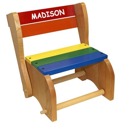 Step Stool Chair This Wooden Step Stool And Chair Is