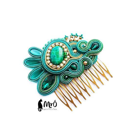 Isobelle original hair comb soutache  Decorative by MrOsOutache