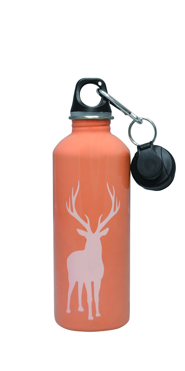 Cheeki Stainless Steel 500 ml Water Bottle - Reindeer. Smart and trendy Cheeki stainless steel water bottles for older  kids and adults alike is a healthy, fun and eco-friendly way to avoid wasting money on bottled water! #bpafree #steelbottles