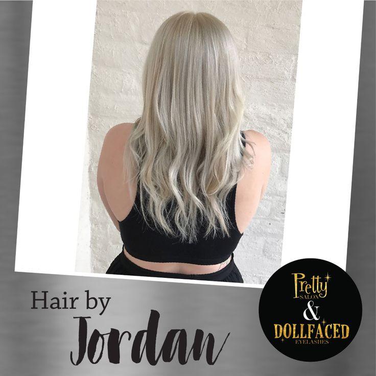 Ice Princess Hair by Jordan. Product: @opalex   Hair Model: @Jenettemoench via Insta. #PrettySalon