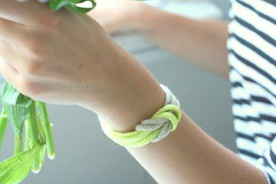 Vom Schnürsenkel zum Armband