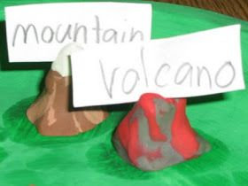A Series of 3rd Grade Events: Muy Bueno Landform Models