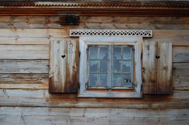 Open air museum in Nowgród. Kurpie.