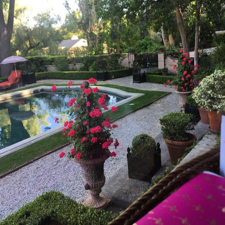"""Joe Ruggiero (@joeruggiero_collection) on Instagram: """"From my studio! #garden #joeruggierogarden #spring #roomwithaview"""""""