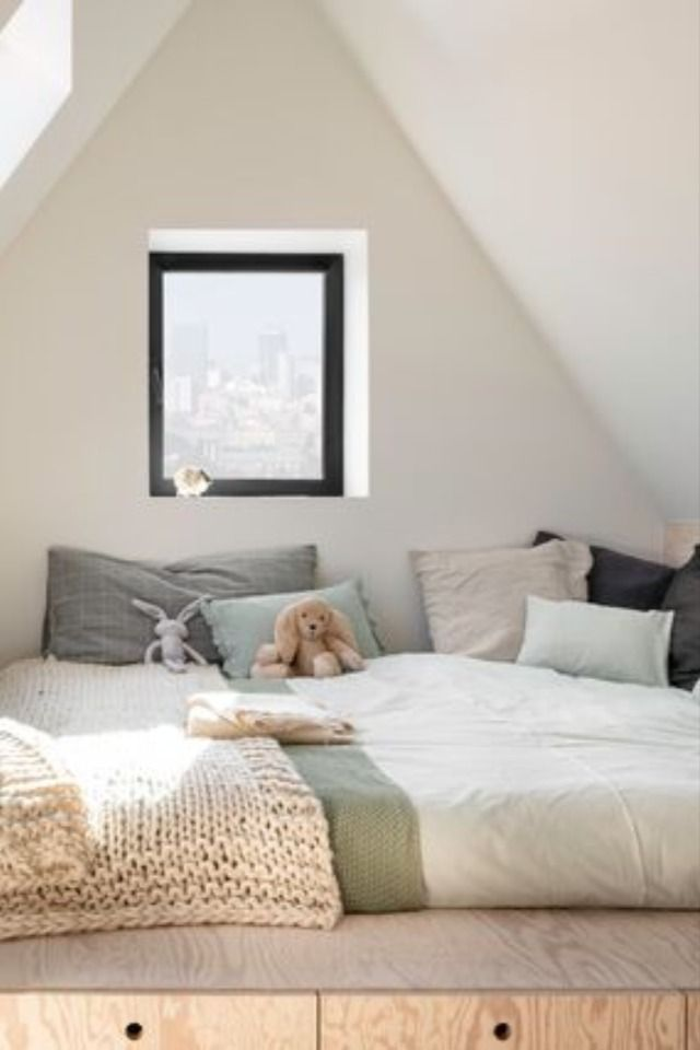 Kidsbedroom Bedroomdecor Mansarde Chambredenfant