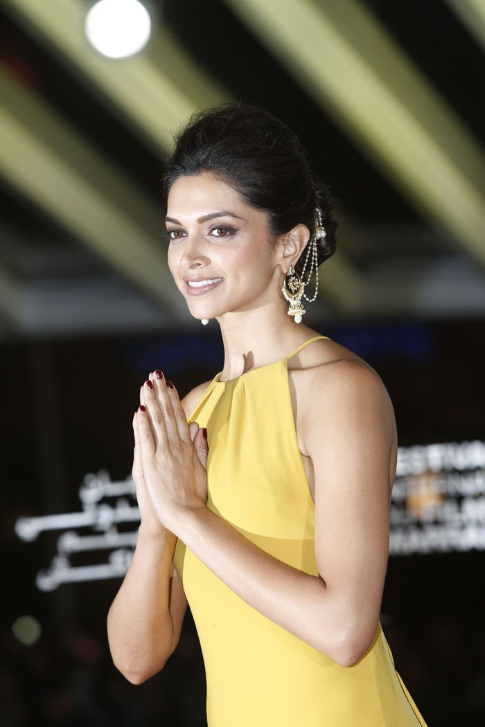Deepika Padukone at the Marrakech Film festival