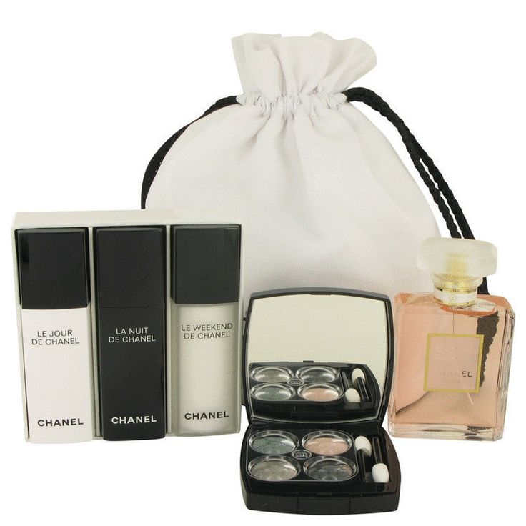 Chanel Gift Set - Coco Mademoiselle 1.7 oz Eau De Parfum Spray + Make up Kit NIB…