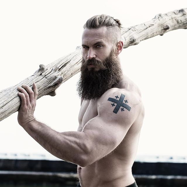 BEARDREVERED on TUMBLR | bearditorium:   Brendan.  I have often wondered whether there are any guys out there who wear very convincing looking false moustaches and beards (and lase wigs) every day in order to look totally unrecognisable to give a different first impression. If I had the means, I have at least three or four different looks I would switch according to my daily mood. This look would definitely be one of my choices.