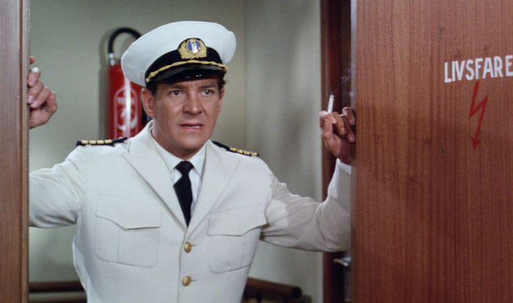 som Kaptajn Bacher i Én pige og 39 sømænd fra 1965