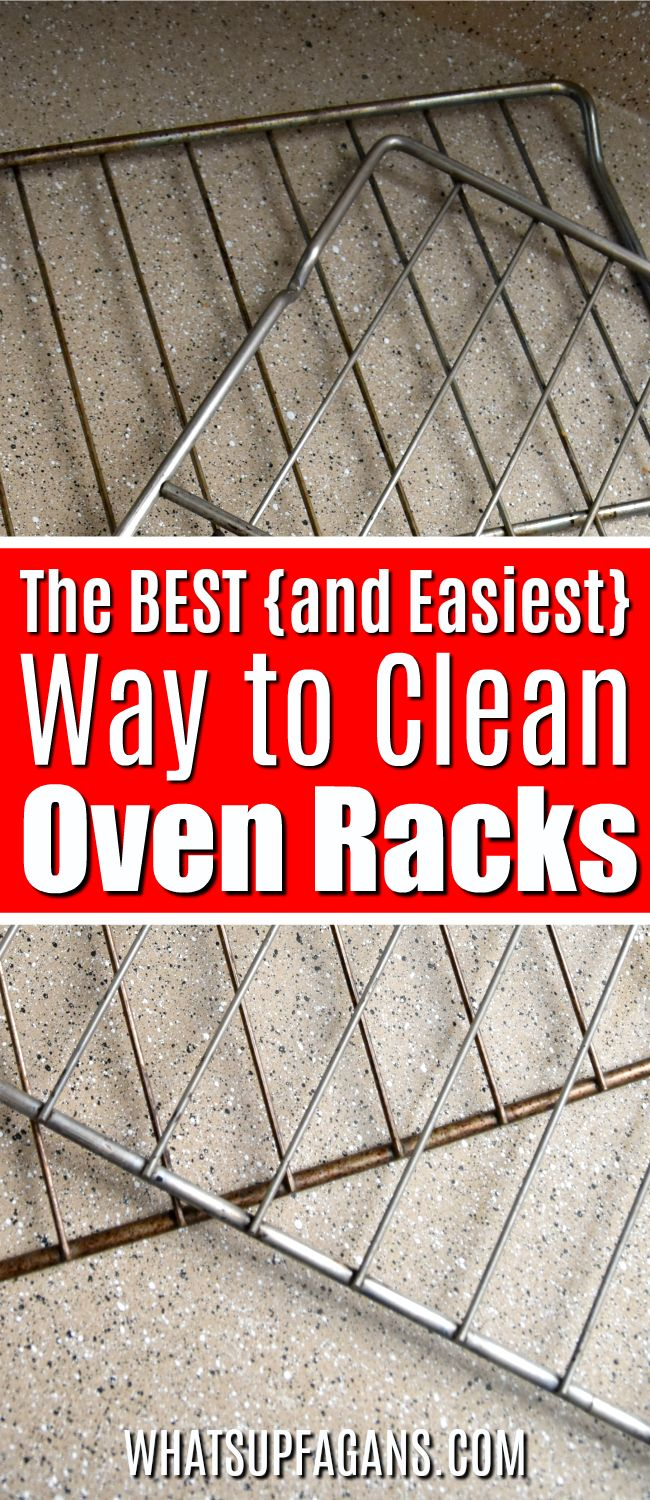 Want to know how to clean oven racks and get them silver and shiny again? Then read on for the best way to clean oven racks! There are a few common options but some are easier and safer than others. #BKFBeforeAndAfter #BKFwh #BarKeepersFriend #Kitchen #oven #ovenracks #cleaning #cleaningtips #cleaninghacks #BKFsoftcleanser #BKFkitchen
