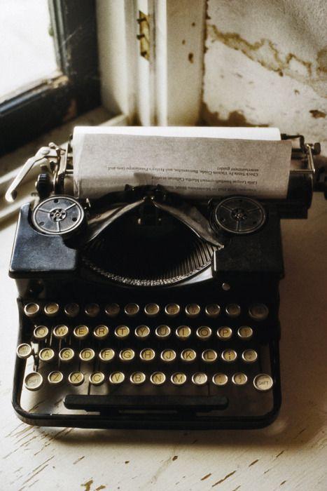 #vintage #typewriter #photography