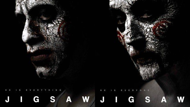 New Jigsaw Posters Assemble the Jigsaw Army   New Jigsaw posters assemble the Jigsaw Army  Lionsgatehas released even more posters for the upcomingJigsawthe eighth film in the Saw horror franchise featuring the return of Tobin Bell.Like all of the films before it Jigsaw will arrive just ahead of Halloween on October 27. Check out the Jigsaw army posters in the gallery below!  The upcoming sequel which fittingly comes seven years after Saw: The Final Chapter will starLaura Vandervoort (Bitten…