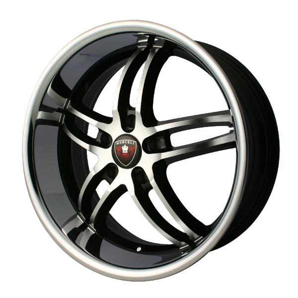 Merceli Rims  (M16, 20 inch, Used Wheels Mags)