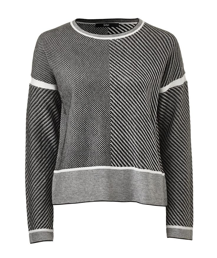SPLICED MONO PATTERN JUMPER