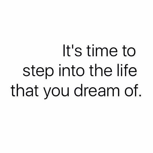 Yes it is! #motivationmonday #mondaymotivation #goodmorning #goodvibesonly #quote #quotes #instaquote #qotd #dreams #goals #life #motivation #inspiration #goforit #manifest    #Regram via @thatjenngrl