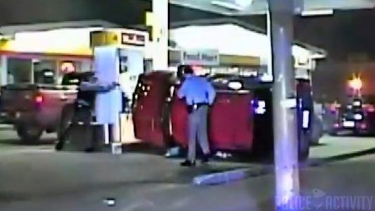 MUST SEE: Dangerous Police Chase Ends in Crash at Cleveland Gas Station #news #alternativenews