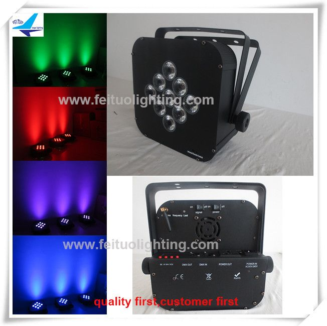 Spectacular Sound activated led lights wedding spotlights rgbaw uv led w slim battery wireless led uplight