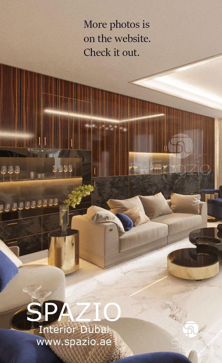 Villa interior design in Dubai | Modern Arabic interior design in ...