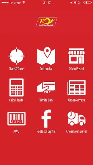 Poșta Română are aplicație pentru iOS și Android