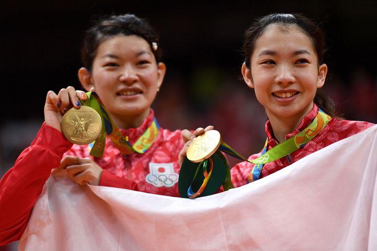 「タカマツペア」、大逆転で日本バドミントン初の金メダル - gorin.jp #リオ五輪