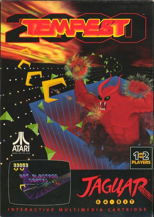 "Tempest 2000 may be the most amazing reboot from the days of retro. Everything Jeff Minter ""touched"" was gold. Amazing game!"