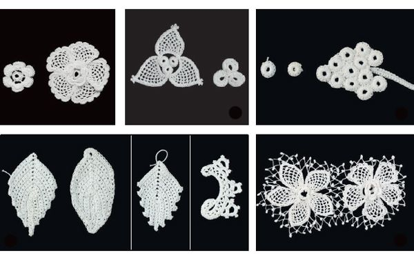 Clones Lace with Marie Treanor - learn how to make Clones lace motifs of your…