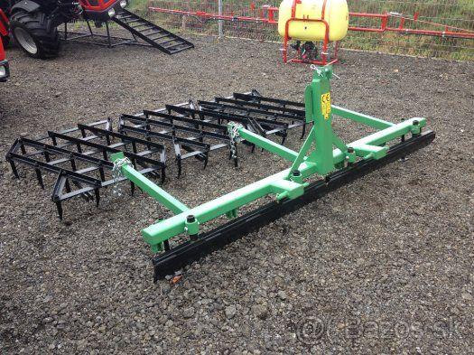 Nesené hřebové brány za traktor, malotraktor 190 cm+ - 1
