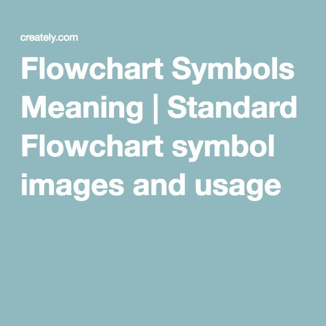 Flowchart Symbols Meaning Standard Flowchart Symbol Images And
