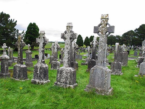 Croci celtiche a Clonmacnoise