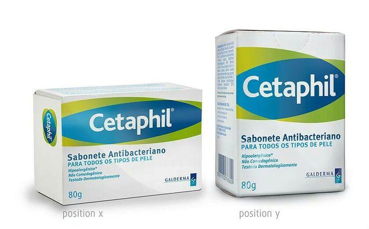 Cetaphil Sabonete antibacteriano  Criação do design de embalagem + pack 3D. Protudo da empresa Galderma Brasil. Proibida a reprodução.