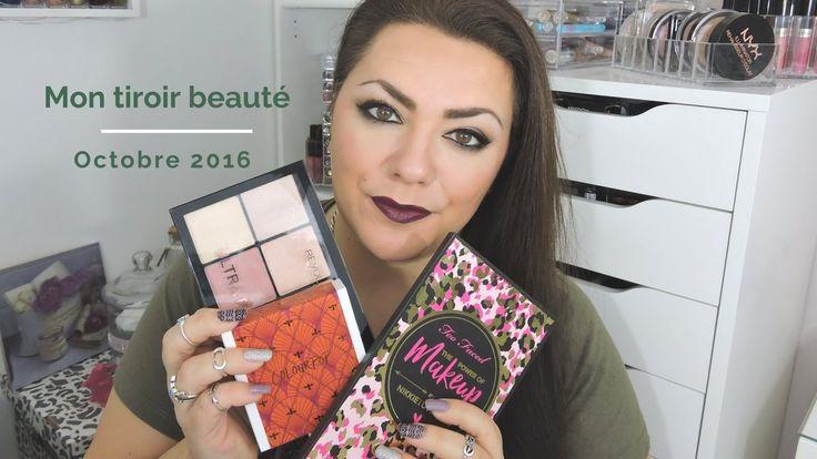 Mon tiroir beauté octobre 2016 : Makeup Révolution, Too faced, Action...