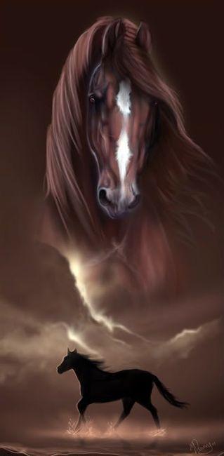 Horse Art - Photo by Melissa Downey