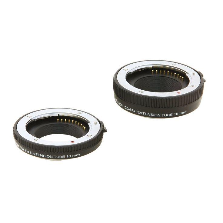 Auto Focus Extension Tube Close Shot Adapter Ring Lens: Amazon.co.uk: Camera & Photo