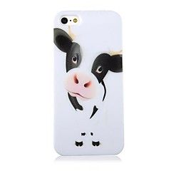 Melkvee+Pattern+Terug+Case+voor+iPhone+5/5S                      +–+EUR+€+2.93