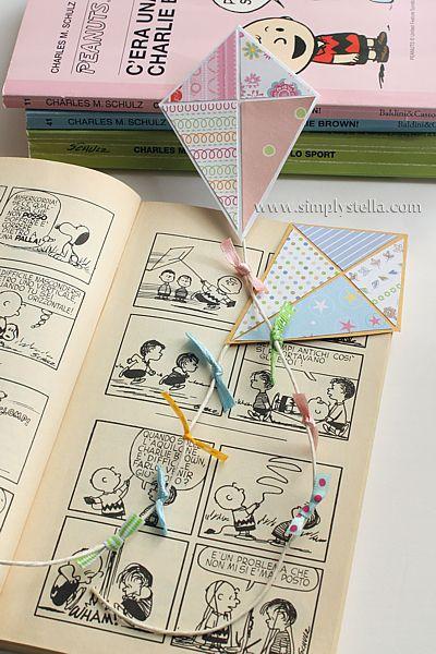 bookmarks Simplystella's Sketchbook: Paper Craft