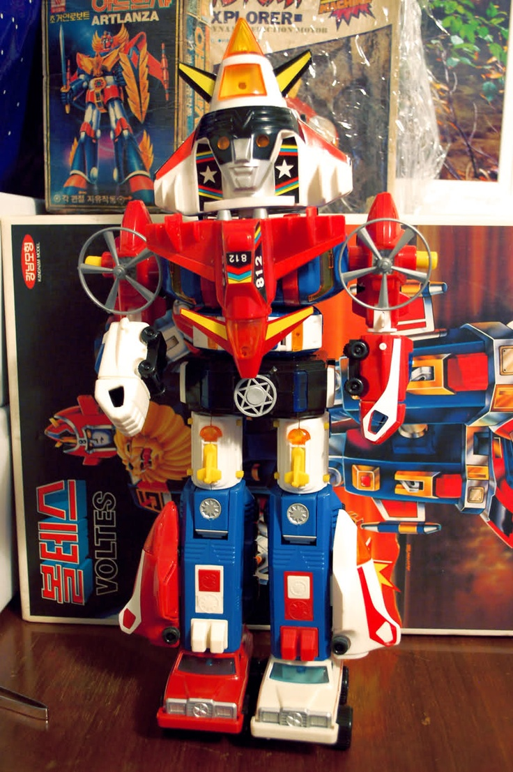 Extremely Cool Dairugger Xv Knockoff Vehicle Voltron