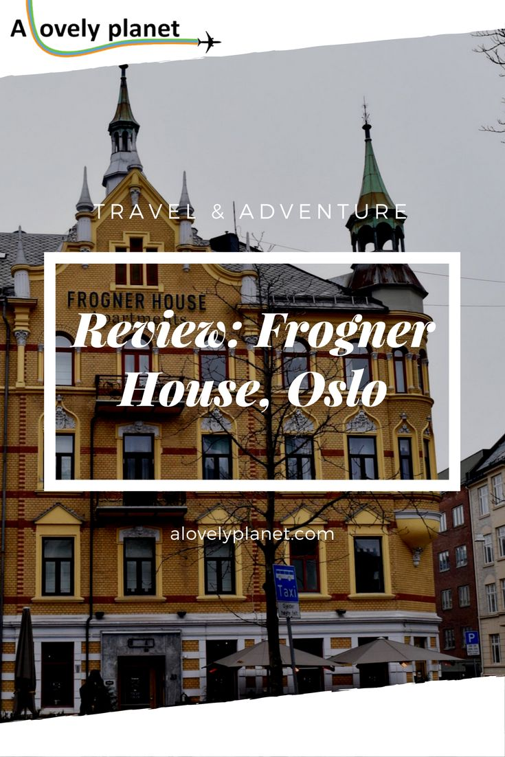 A Review of Frogner House in Oslo. #Oslo #Norway #Hotel
