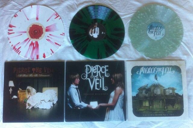 Pierce The Veil. These are beautiful pieces of art