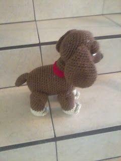 Amigurumi Perro Pug Patron : 10+ imagenes sobre Perros a crochet. en Pinterest ...
