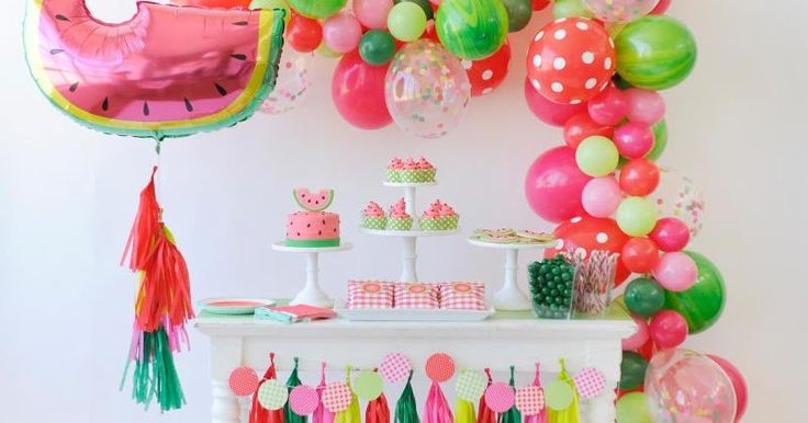 Watermelon Birthday Party Ideas | Bird's Party | Bloglovin'