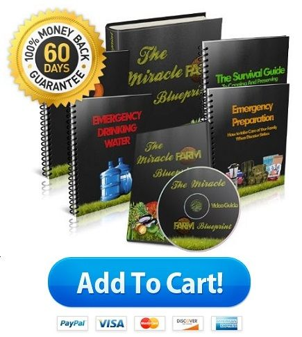 Miracle Farm system is a step by step video guide system to build your own farm with professionally designed manuals and blueprint to grow food.