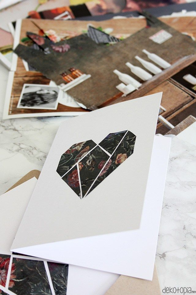 Valentine's Card DIY With Paper