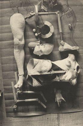 Plate from La Poupée - Hans Bellmer Completion Date: 1936 Style: Dada, Surrealism Genre: photo