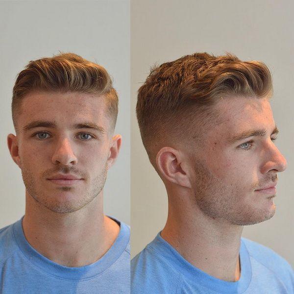 Mannerfrisuren Seiten Kurz Oben Lang Haarschnitt Kurz Haarschnitt Manner Herrenschnitte