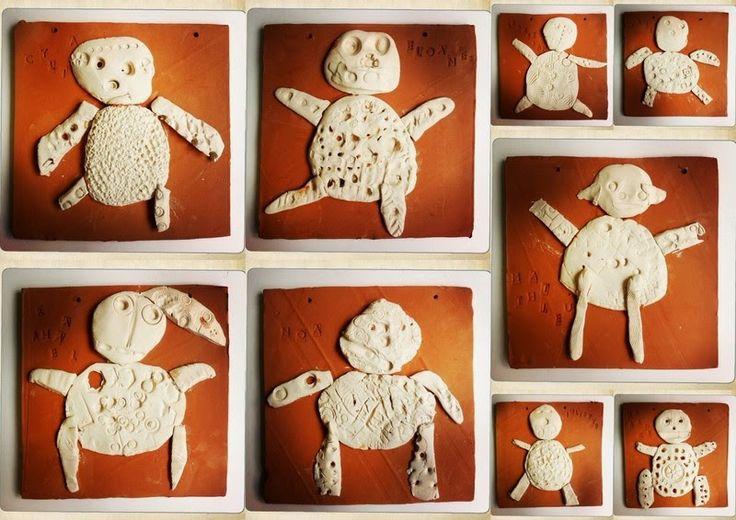 les petites têtes de l'art: Argile, matière à créer