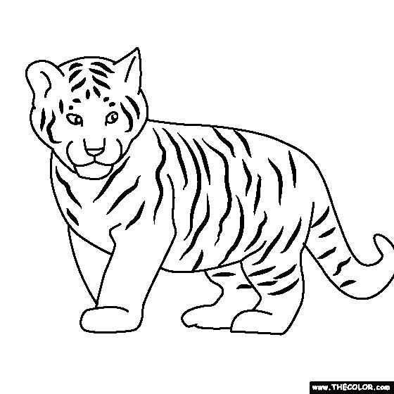 online baby coloring pages - photo#42