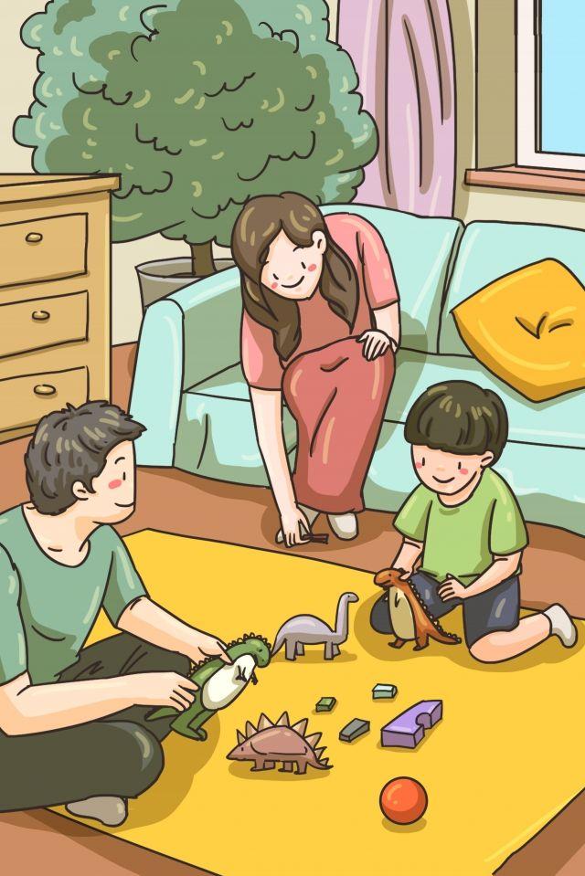 Familia Familia Madre E Hijo Familia Entre Padres E Hijos Buenas Noches Cuento De Hadas Imagen De Ilustracion En Pngtree Libres De Derechos Ilustracion De Los Ninos Juegos Para Ninos Dibujos
